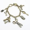 Hairdressing charm bracelet 184432