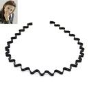 Concise unisex wavy headband 177577