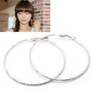 Korean personality hollow ring earrings 158317
