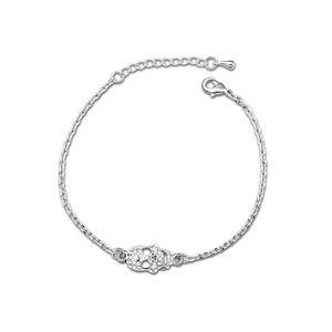 Austria Imitated crystal Bracelet - Bone spirit ( White ) 12666
