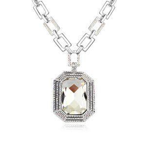 Alloy Fashion king necklaces White 17276