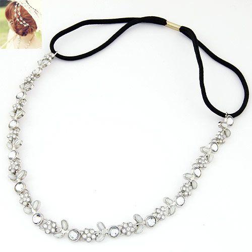Occident fashion metal sweet small flower headband 218880