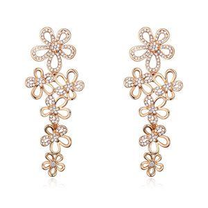 Austria imitated crystal earrings (  ) 18219