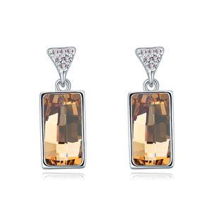 Austria imitated crystal earrings  Alloy shadow  18214