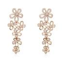 Austria imitated crystal earrings    18219