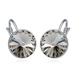 Austria Imitated crystal ear clip  Black Rhinestone  17857