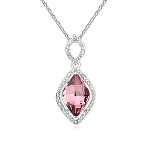 Austria Imitated crystal Necklace  Imitated crystal classicpink  17835