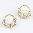 EXQUISITE Sweet grace gem Beads ear studs 213708