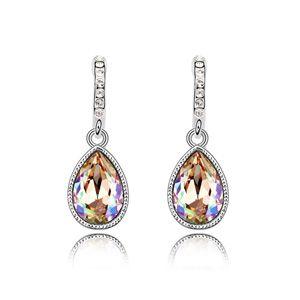 Austrian imitated crystal earrings - Xiaojiabiyu ( Glow Green ) 13014