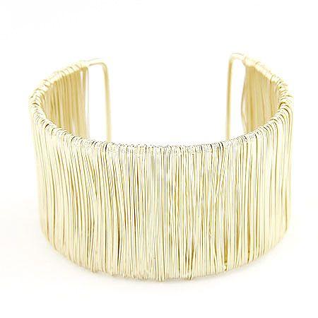 Occident fashion boast extra wide cuff bangle 214610