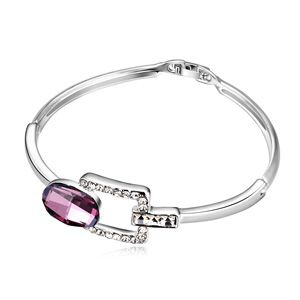 Austrian imitated crystal bracelet - Toon Love ( Pink Imitated crystal Classic ) 13642
