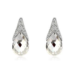 Alloy-plated - Still you boutique earrings ( White ) 13562