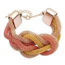 Boast vintage national style fashion bracelet  yellow + orange + alloy  7106119