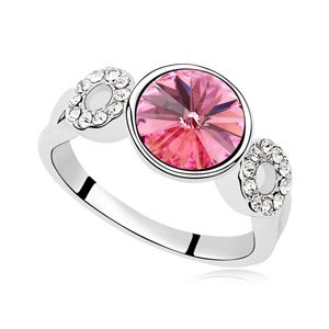 Austrian Imitated crystal Ring - Affection yo (Rose Red) 14456