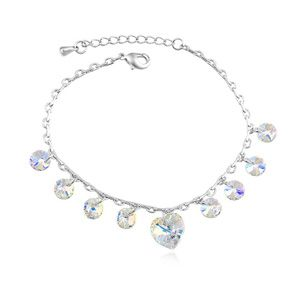 Austrian imitated crystal anklets - Xinyuan Dream (Color white) 14080