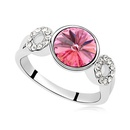 Austrian Imitated crystal Ring  Affection yo Rose Red 14456