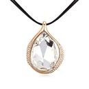 Alloyplated  Light Desert necklaces White + Champagne Alloy  14268