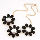 Occident fashion easy match flower necklace 216209