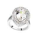 Austrian Imitated crystal RingNodame Cantabile  White  16046