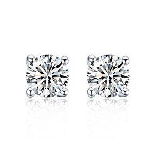 AAA grade zircon earring inlaid by hand  Love alone  16476