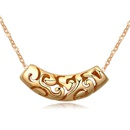 Alloy  Necklaces Champagne Alloy 16772