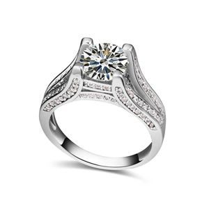 The AAA level micro ring inlaid CZ 18763