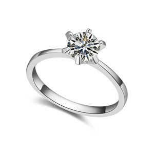 AAA level micro inlaid CZ couples rings A 18729