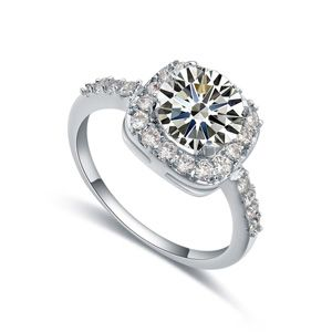 The AAA level micro ring inlaid CZ 18713