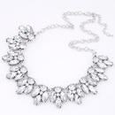 Occident fashion brand dazzling gem collar necklace  alloy  219856