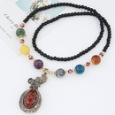 Wild hyacinth Bag pendant long section of decorative accessories necklaces NH223708