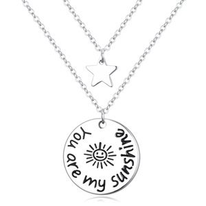 Alloy necklaces sunshine NHKSE21827