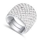 Austrian Imitated crystal Ring  Lanzhou White NHKSE21899