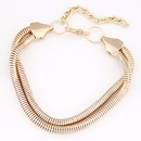 Occident fashion metal chain concise bracelet  alloy  220391