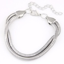 Occident fashion metal chain concise bracelet  alloy  220391