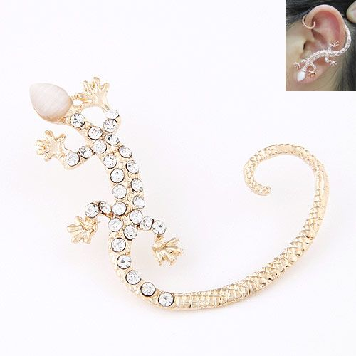 Occident Alloy rhinestone earrings NH220920