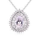 Handinlaid necklace AAA grade zircon  beautiful stars garnet 20474
