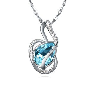 Austrian imitated crystal necklace  Love Harbor Highland 20567