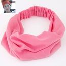 Leisure Pure Cotton Yoga wide brimmed headgear elastic cloth headband  headdress NH223462