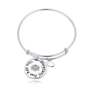Boutique bracelet- letter three (sunflowers) NHKSE22170
