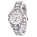 Leisure Ordinary glass mirror alloy watch Alloy NHSY0504