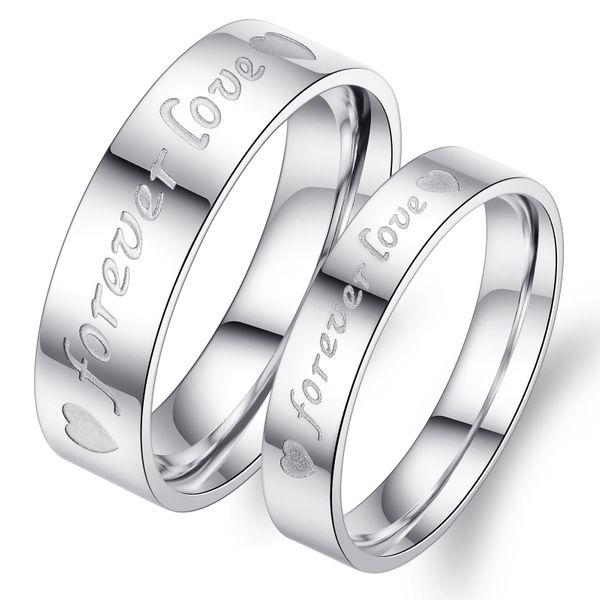 Korean version of Korean / Korean style stainless steel  Rings (Female 9) NHOP0416