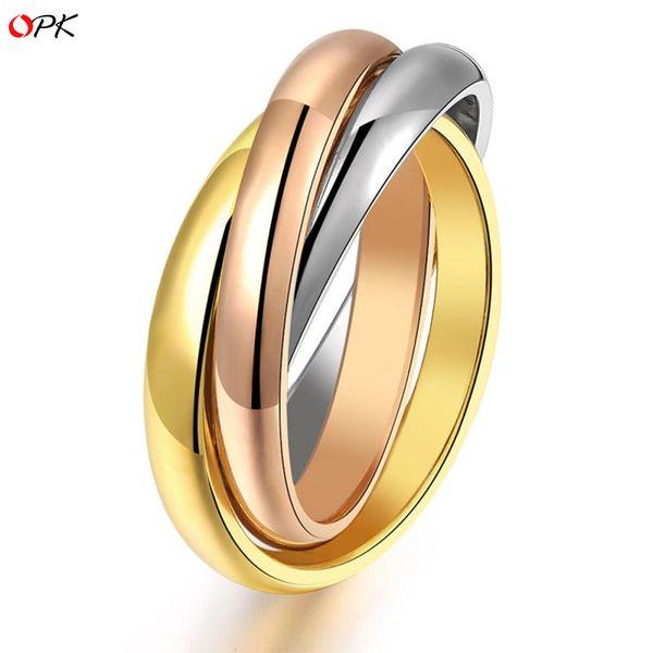 Titanium steel Paint Rings (7) NHOP0822