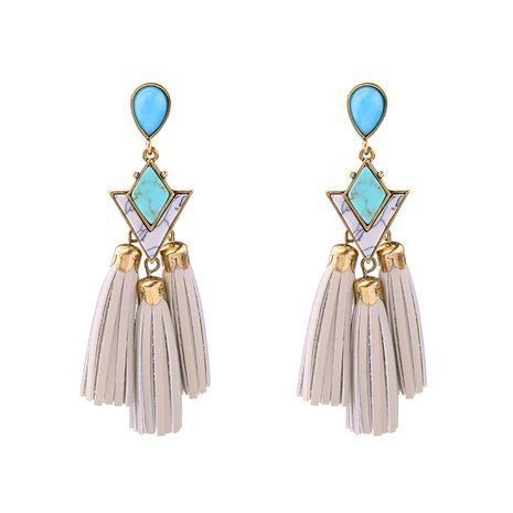 Occident and the United States alloy Rhinestone Earrings  NHQD3153's discount tags