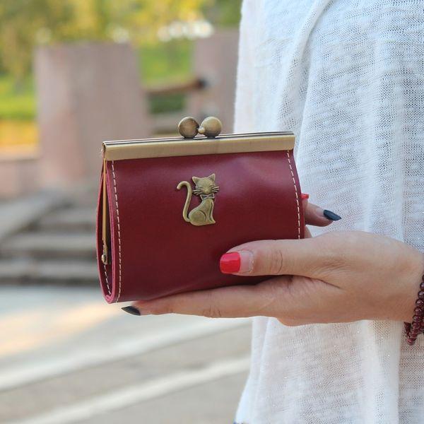 Korean version PU leather Synthetic Leather fashion purse (Zaohong) NHNI0219