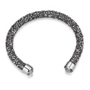 Austrian Imitated crystal Bracelet A  Brilliant Light Black NHKSE24361