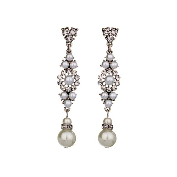 Occident and the United States alloy  Earrings  NHQD3267