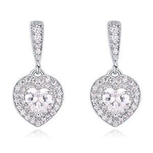 S925 sterling alloy earrings  love sugar NHKSE22540