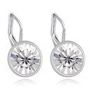 Austrian imitated crystal earrings  Small Rhinestone Edition sugar white NHKSE22467