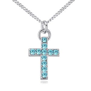 Austrian imitated crystal necklace  if light breeze Highland NHKSE22935
