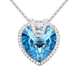 Austrian imitated crystal necklace  gorgeous Eternal Bluray NHKSE22953